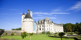 Chenonceau Chateau, France Royalty Free Stock Images