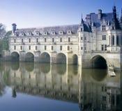 Chenonceau del castillo francés foto de archivo libre de regalías