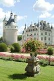 Chenonceau del chateau Fotografie Stock Libere da Diritti