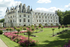 Chenonceau do castelo Fotografia de Stock Royalty Free