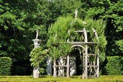CHENONCEAU, exploração agrícola no castelo de Chenonceau, castelo de Loire Valley Foto de Stock