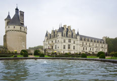 CHENONCEAU, FRANCE - November 2012: Castle on November, 2012 in Royalty Free Stock Photos