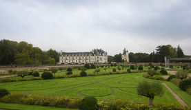 CHENONCEAU, FRANCE - November 2012: Castle on November, 2012 in Stock Image
