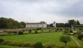 CHENONCEAU, FRANKREICH - das November 2012: Schloss an November, 2012 Zoll Stockbild