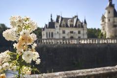 Chenonceau kasztel w Francja europejczycy Obrazy Royalty Free