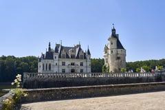Chenonceau kasztel w Francja europejczycy Obraz Stock