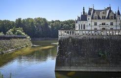 Chenonceau kasztel w Francja europejczycy Zdjęcia Stock