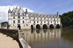 CHENONCEAU Loire Valley castle near the village of Chenonceaux. Stock Photos
