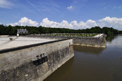 CHENONCEAU Loire Valley castle near the village of Chenonceaux. Royalty Free Stock Image