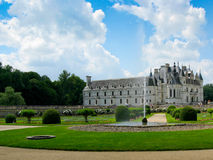 Chenonceau's gardens Stock Photo
