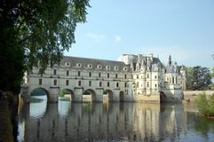 Chenonceau Schloss Stockfotografie