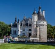 Chenonceau-Schloss Loyre-Tal Frankreich Stockfotos
