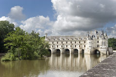 chenonceau zamku France obrazy stock