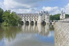 chenonceau zamku France zdjęcie stock