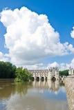 chenonceau zamku France Zdjęcie Royalty Free