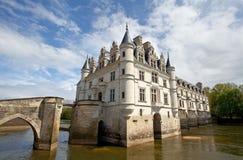 Chenonceaux. Castle of Chenonceaux in Loire, France Stock Photo