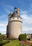Chenonceaux. Castle of Chenonceaux in Loire, France Royalty Free Stock Photos