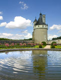 Chenonceaux Castle. In Loire Valley Royalty Free Stock Images