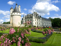 Chenonceaux Castle. In Loire Valley Stock Photography