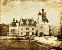 Chenonseau castle Royalty Free Stock Photos