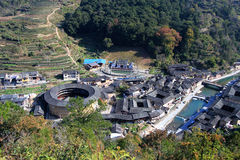 Chenqi fujian tulou Royalty Free Stock Images