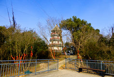 Chenshan tower Royalty Free Stock Image