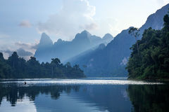 Cheo Lan Lake Stock Photography