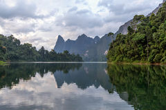 Cheo Lan Lake Royalty Free Stock Photography