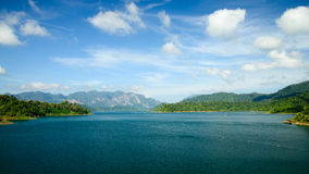 Cheo Lan lake Royalty Free Stock Photo