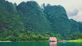 Cheo Lan Lake in Thailand. Low Season Stock Photography