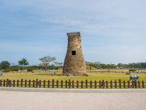 Cheomseongdae observatory in Gyeongju stock images