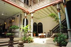 Cheong Fatt Tze - la mansión azul imagenes de archivo