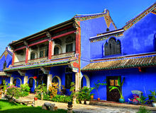 Cheong Fatt Tze Mansion stock afbeelding