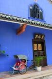 Cheong Fatt Tze Mansion, Penang, Malásia fotografia de stock