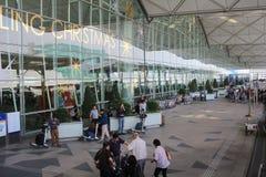 Cheong Hong Road Hong Kong International Airport Stock Images