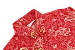 Cheong sam, обмундирование традиционного китайския Стоковые Фотографии RF