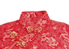Cheong sam, обмундирование традиционного китайския Стоковое Фото