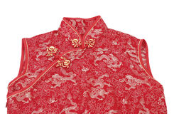 Cheong sam, a traditional Chinese outfit Stock Photography