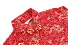 Cheong sam, a traditional Chinese outfit Royalty Free Stock Photos