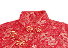 Cheong sam, a traditional Chinese outfit stock photo