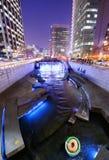 Cheonggyecheon στη Σεούλ Στοκ εικόνα με δικαίωμα ελεύθερης χρήσης