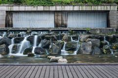 Cheonggyecheon Stream Royalty Free Stock Images