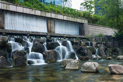 Cheonggyecheon Stream Royalty Free Stock Photo