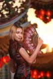 cheongsam Royaltyfri Foto