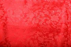 красный цвет cheongsam Стоковые Фото