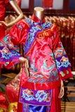 The cheongsam Stock Photography