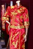 The cheongsam Royalty Free Stock Photo