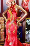 The cheongsam Royalty Free Stock Images