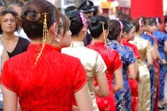 The Cheongsam Dress Stock Photo