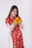 Cheongsam dress Stock Image